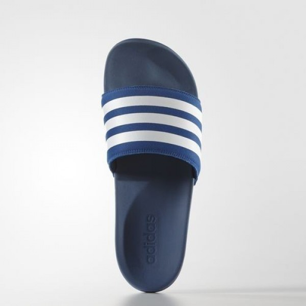 Adidas Sandale Adilette Supercloud Plus Femme EQT Blue/Footwear White Natation Chaussures NO: AQ4936