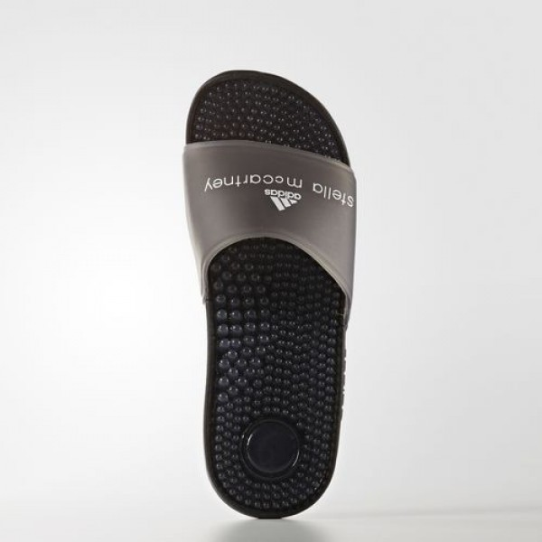 Adidas Sandale Adissage Femme Core Black/Footwear White by Stella McCartney Chaussures NO: BB0609