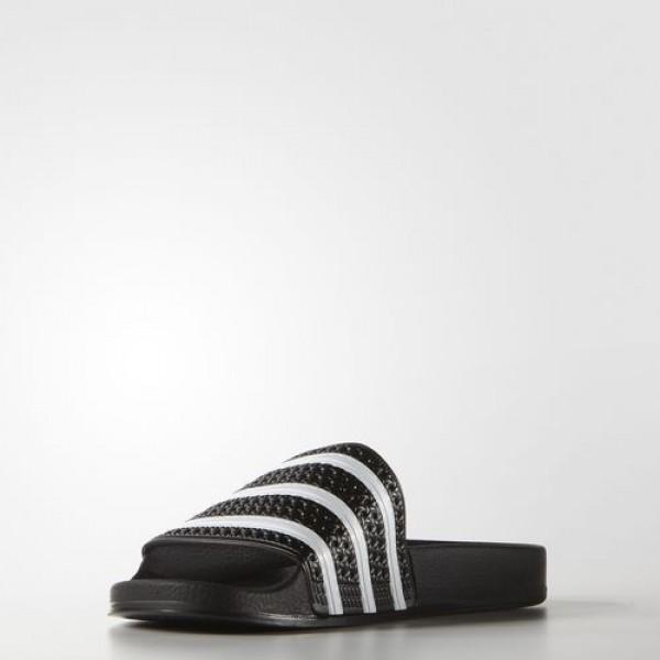 Adidas Sandales Adilette Homme Core Black/White Originals Chaussures NO: 280647