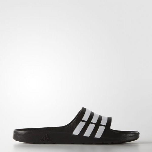 Adidas Sandale Duramo Femme Core Black/White Natat...