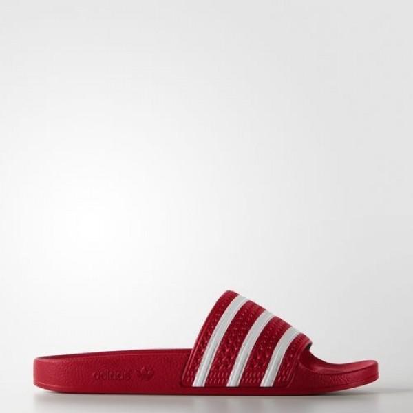 Adidas Sandale Adilette Homme Scarlet/White Origin...