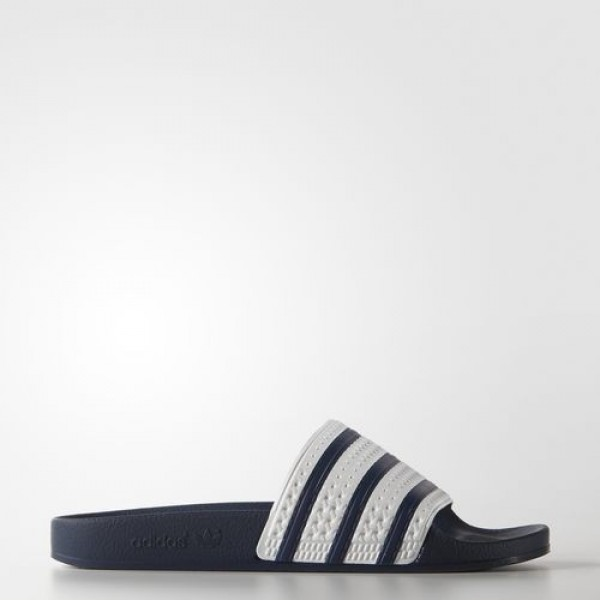 Adidas Sandales Adilette Homme adiblue/White Origi...