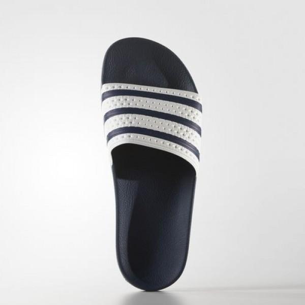 Adidas Sandales Adilette Homme adiblue/White Originals Chaussures NO: G16220