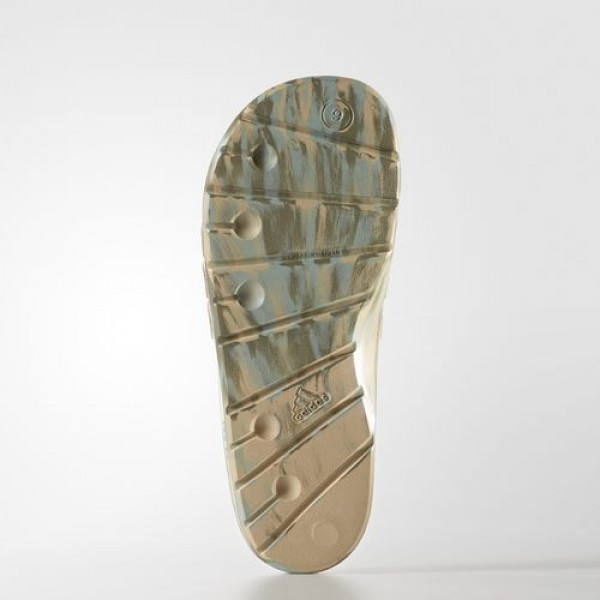 Adidas Sandale Duramo Femme Linen Khaki/Energy/Trace Cargo Natation Chaussures NO: BA8787