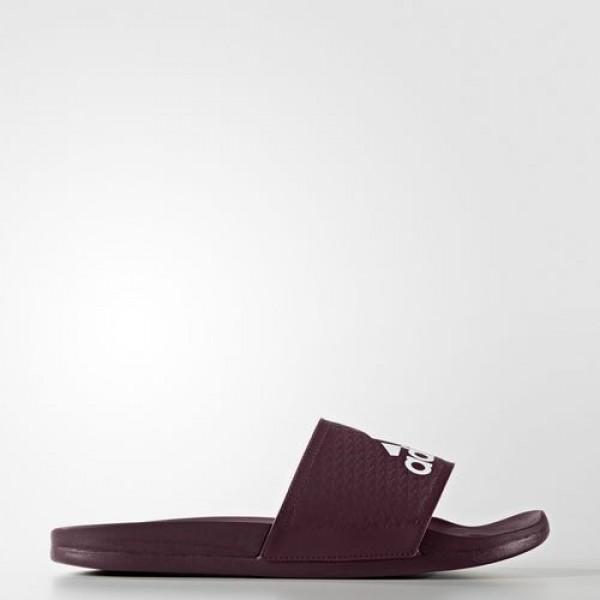 Adidas Sandale Adilette Cloudfoam Plus Homme Maroo...