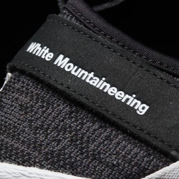 Adidas White Mountaineering Primeknit Superstar Slip-On Homme Core Black / Ftwr White / Ftwr White Originals Chaussures NO: BY2880