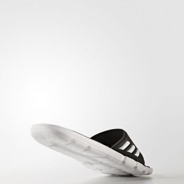 Adidas Sandales Adipure Cloudfoam Femme Core Black/Footwear White Natation Chaussures NO: BB4558