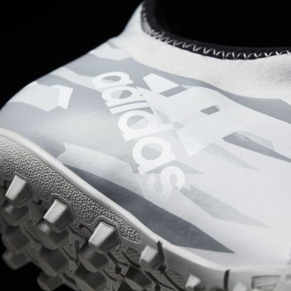 Adidas X Tango 16.2 Turf Homme Footwear White/Mid Grey Football Chaussures NO: BA9828
