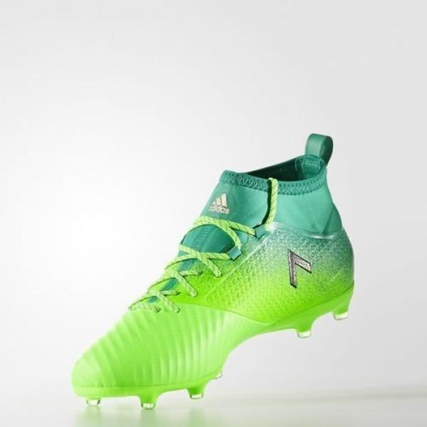 Adidas Ace 17.2 Primemesh Terrain Souple Homme Solar Green/Core Black/Core Green Football Chaussures NO: BB5968