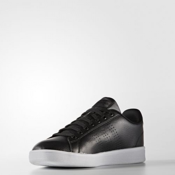 Adidas Cloudfoam Advantage Clean Homme Core Black/Dark Grey Heather Solid Grey neo Chaussures NO: AW3915