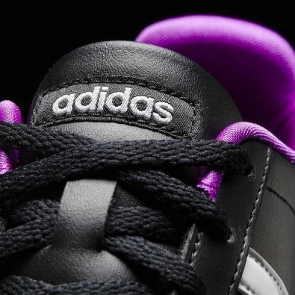 Adidas Vs Coneo Qt Femme Core Black/Footwear White/Matte Silver neo Chaussures NO: B74551
