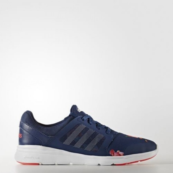 Adidas Cloudfoam Xpression Femme Mystery Blue/Footwear White/Shock Red neo Chaussures NO: AW3999