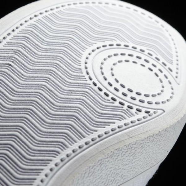 Adidas Cloudfoam Qt Vulc Femme Footwear White/Matte Silver neo Chaussures NO: B74579