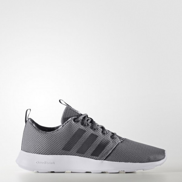 adidas neo Chaussure Cloudfoam Swift Racer Couleur Grey Three /Grey Five /Grey Two (CG5841)
