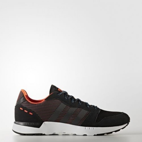 Adidas Cloudfoam City Racer Homme Core Black/Solar Red neo Chaussures NO: AW4066
