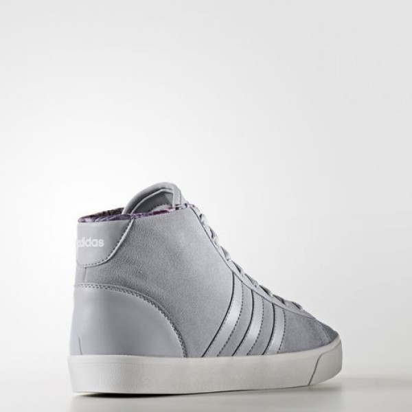 Adidas Cloudfoam Daily Qt Mid Femme Clear Onix/Footwear White neo Chaussures NO: AW4211