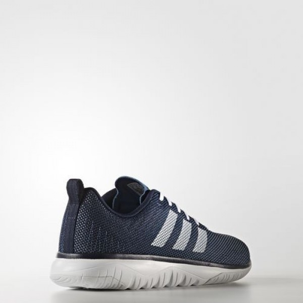 Adidas Cloudfoam Super Flex Homme Collegiate Navy/Footwear White/Core Blue neo Chaussures NO: AW4173