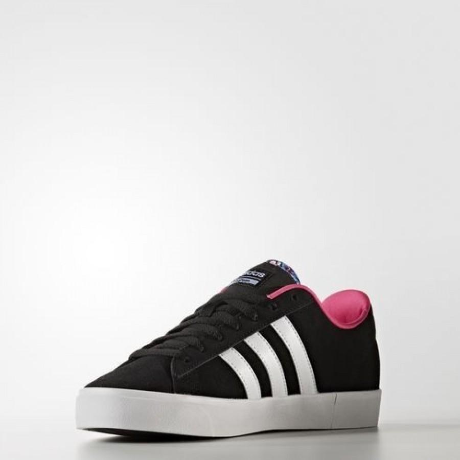 Adidas Cloudfoam Daily Qt Femme Core Black/Footwear White ...