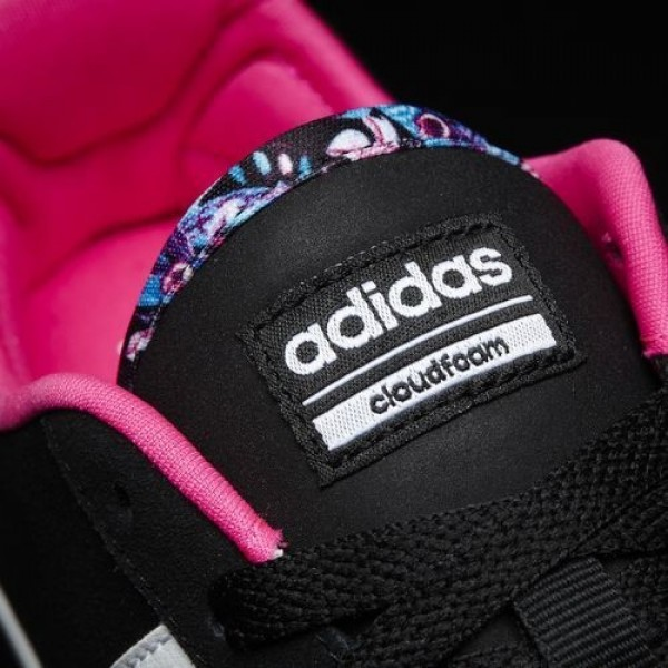 Adidas Cloudfoam Daily Qt Femme Core Black/Footwear White/Shock Pink neo Chaussures NO: AW4218