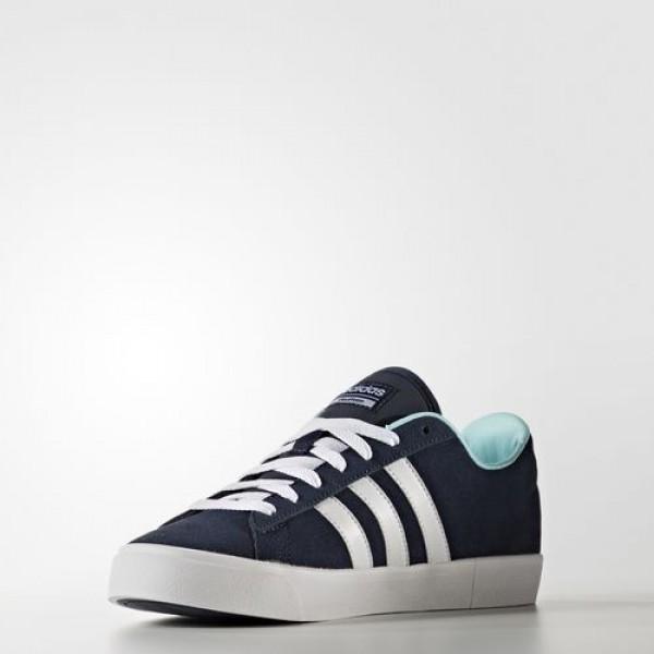 Adidas Cloudfoam Daily Qt Femme Collegiate Navy/Footwear White/Clear Aqua neo Chaussures NO: AW4216