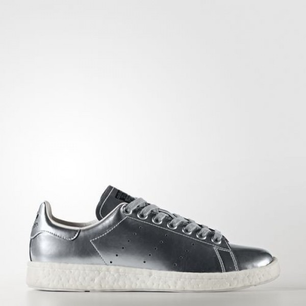 Adidas Stan Smith Boost Femme Silver Metallic/Foot...