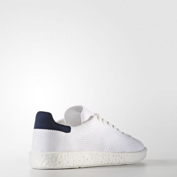 Adidas Stan Smith Boost Primeknit Femme Footwear White/Collegiate Navy Originals Chaussures NO: BB0012
