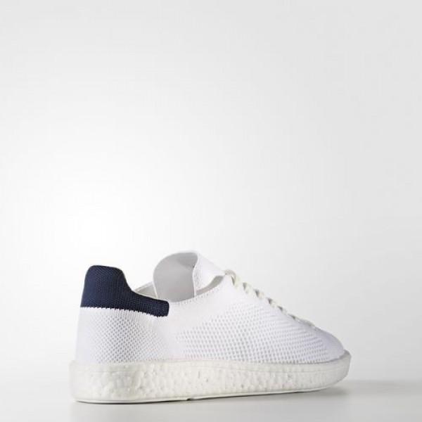 Adidas Stan Smith Boost Primeknit Femme Footwear White/Collegiate Navy Originals Chaussures NO: BB0012