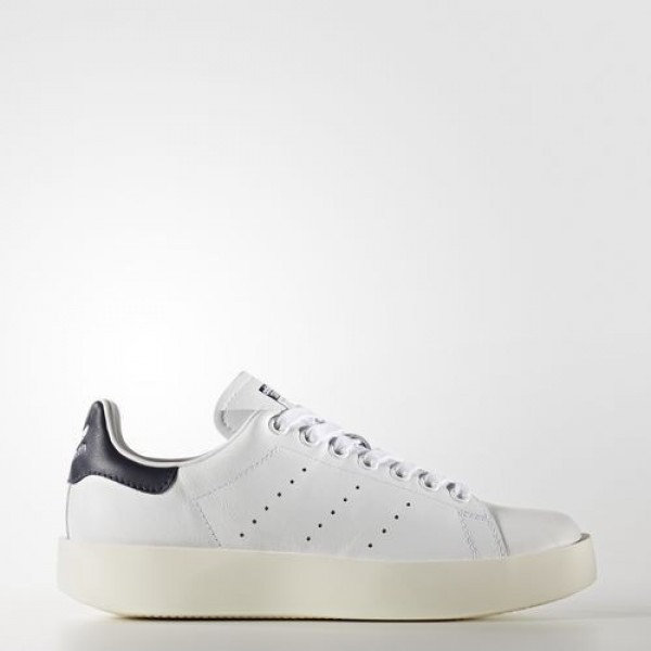 Adidas Stan Smith Bold Femme Core Black/Collegiate Navy Originals Chaussures NO: BA7770