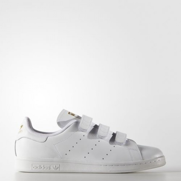Adidas Stan Smith Homme Footwear White/Gold Metall...