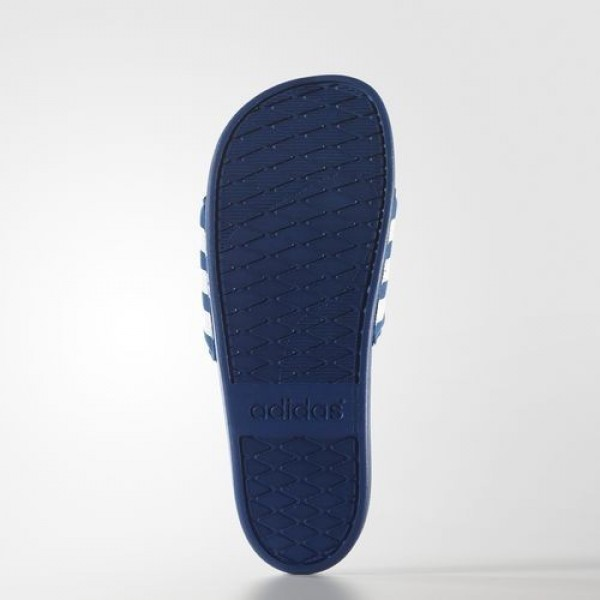Adidas Sandale Adilette Supercloud Plus Homme EQT Blue/Footwear White Natation Chaussures NO: AQ4936