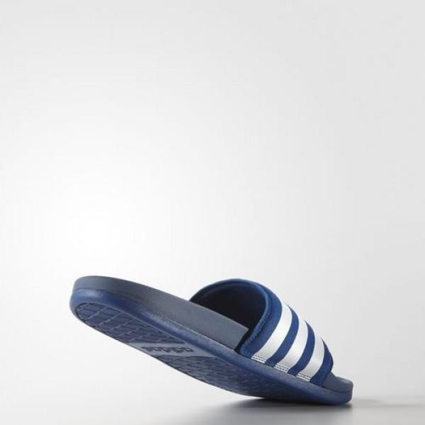 Adidas Sandale Adilette Supercloud Plus Homme EQT Blue/Footwear White Natation Chaussures NO: AQ4936