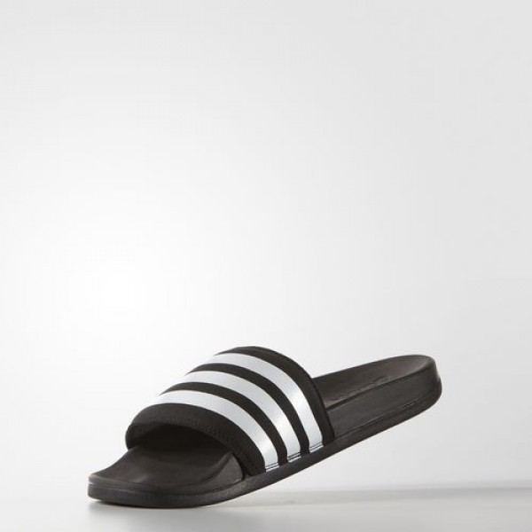 Adidas Sandale Adilette Supercloud Plus Homme Core Black/Footwear White Natation Chaussures NO: AQ4935