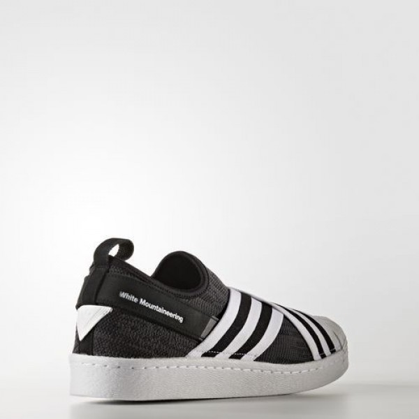 Adidas White Mountaineering Primeknit Superstar Slip-On Femme Core Black / Ftwr White / Ftwr White Originals Chaussures NO: BY2880