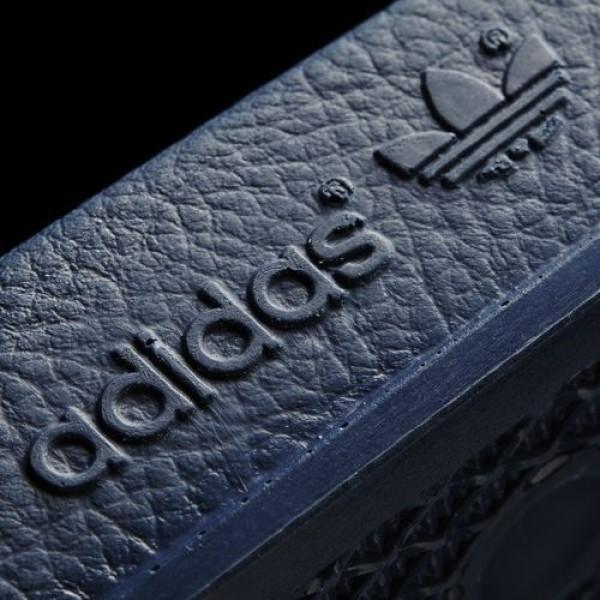 Adidas Sandales Adilette Homme adiblue/White Originals Chaussures NO: 288022