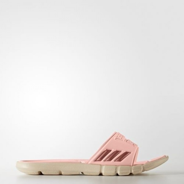 Adidas Sandales Adipure Cloudfoam Femme Haze Coral/Tech Rust Metallic/Linen Natation Chaussures NO: BB4559