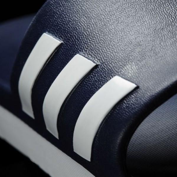 Adidas Sandale Aqualette Cloudfoam Homme Collegiate Navy/Footwear White Natation Chaussures NO: AQ2163