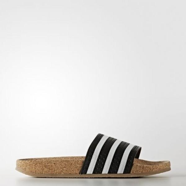 Adidas Sandale Adilette Cork Femme Core Black/Foot...