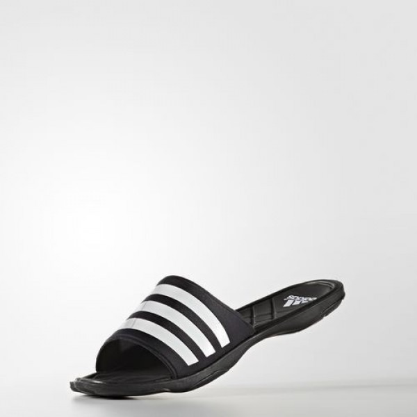 Adidas Sandale Adipure Cloudfoam Homme Core Black/Footwear White/Clear Grey Natation Chaussures NO: AQ3936