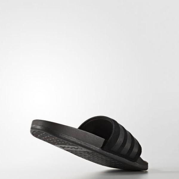 Adidas Sandale Adilette Cloudfoam Ultra Explorer Homme Core Black Natation Chaussures NO: AQ2104