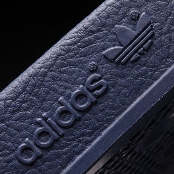 Adidas Sandales Adilette Femme adiblue/White Originals Chaussures NO: G16220