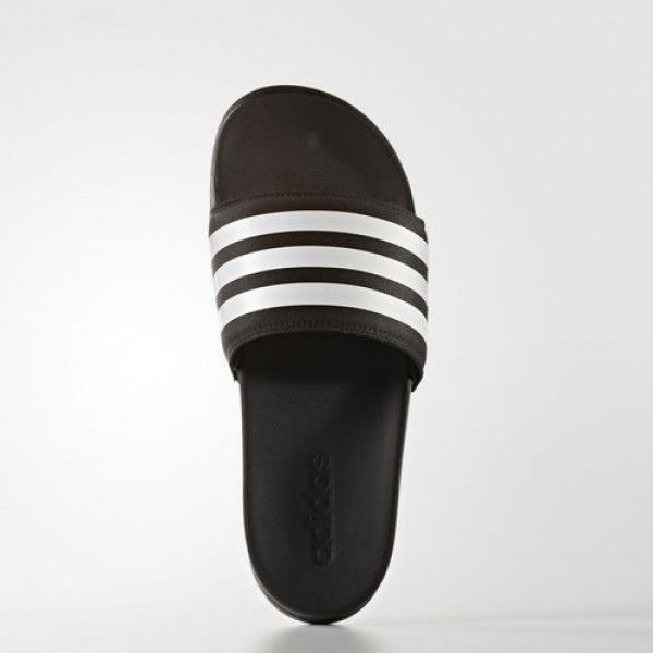 Adidas Sandale Adilette Cloudfoam Ultra Stripes Femme Core Black/Footwear White Natation Chaussures NO: S80420