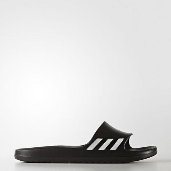 Adidas Sandale Aqualette Femme Core Black/Footwear White Natation Chaussures NO: BA8762
