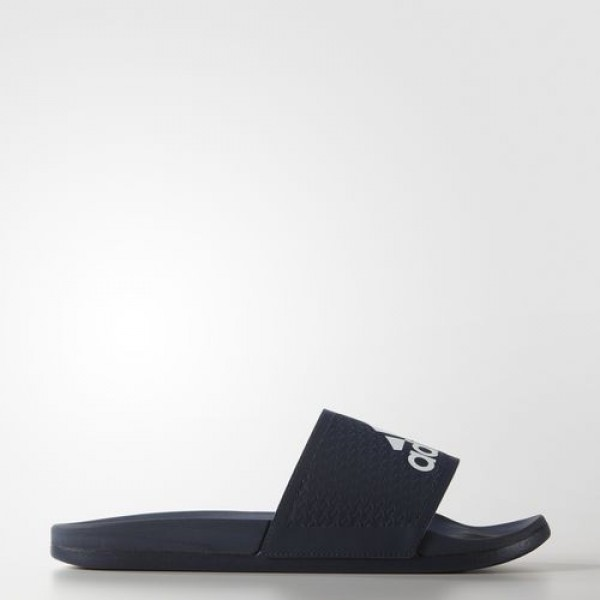 Adidas Sandale Adilette Cloudfoam Plus Homme Collegiate Navy/Footwear White Natation Chaussures NO: AQ3116