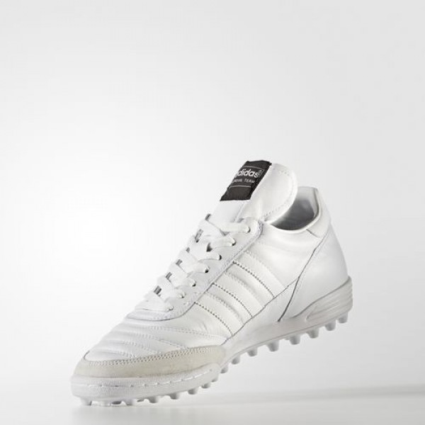Adidas Mundial Team Homme Footwear White/Tech Silver Metallic Football Chaussures NO: BY9156