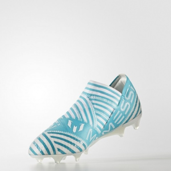Chaussure Nemeziz Messi 17+ 360 Agility Terrain souple Hommes Football Couleur Footwear White/Legend Ink /Energy Blue (BY2401)