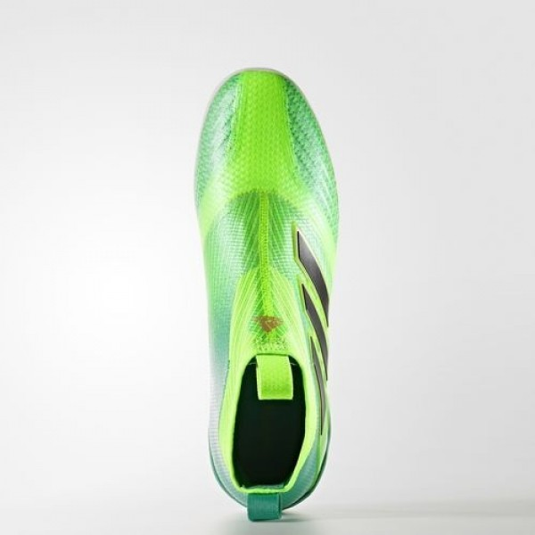 Adidas Ace Tango 17+ Purecontrol Indoor Homme Solar Green/Core Black/Core Green Football Chaussures NO: BY2821