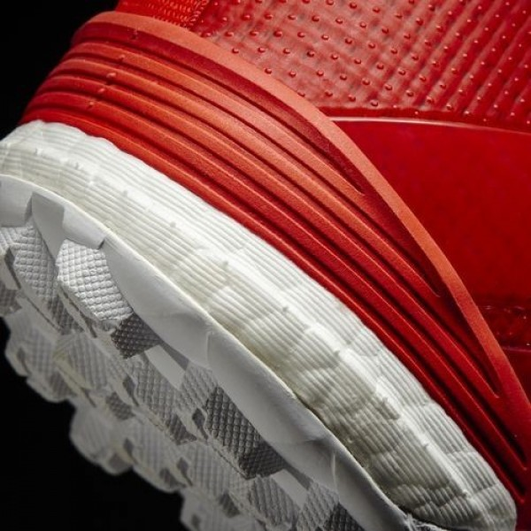 Adidas Ace Tango 17+ Purecontrol Turf Homme Red/Footwear White/Core Black Football Chaussures NO: S82078