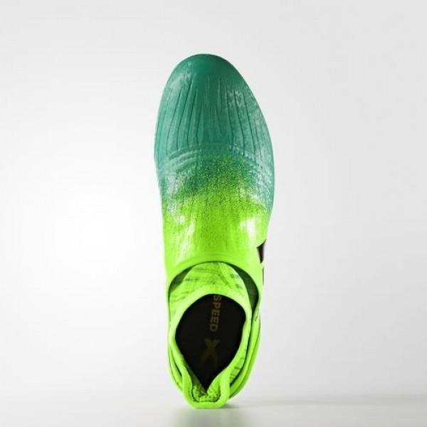 Adidas X 16+ Purechaos Terrain Souple Homme Solar Green/Core Black/Core Green Football Chaussures NO: BB1075