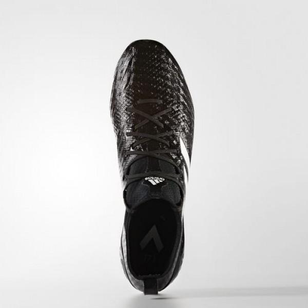 Adidas Ace 17.1 Primeknit Terrain Gras Homme Core Black/Footwear White/Night Metallic Football Chaussures NO: BA9190