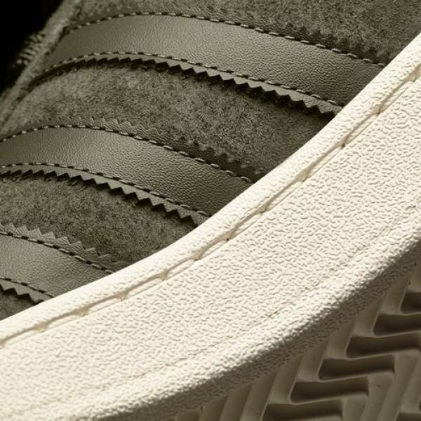Adidas Campus Homme Olive Cargo/Core Blue Originals Chaussures NO: BB0077